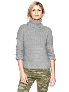Gap Stitch Turtleneck Sweater