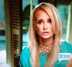 Kim Richards in ML Accessories on the RHofBH