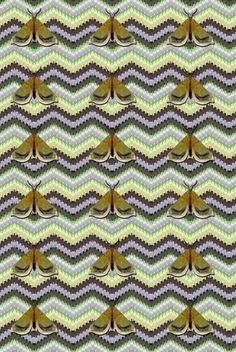 Timorous Beasties Fabric - Bell Moth