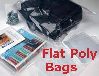 clear bags - especially 1x8inch!!