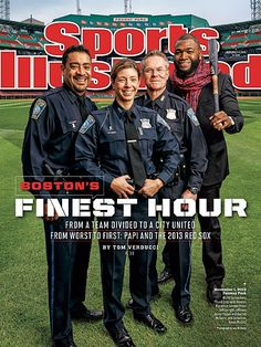 Sports Illustrated Cover Features David Ortiz And Marathon Responders