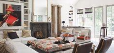 LA House - Family Room 2 -Styled for Veranda's House of Windsor Designer Showcase