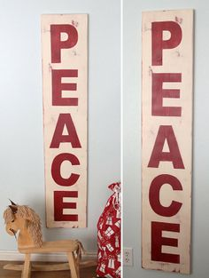 PB peace sign knockoff - made for only $14!!