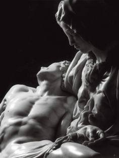 I love this angle of the Pieta