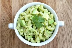 avocado mac and cheese. yum