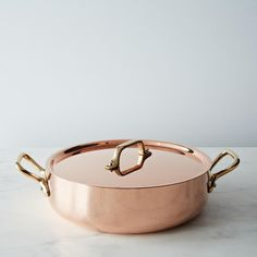 copper stew pan.