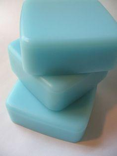 Sky Blue Sky Luxury Glycerin Soap  Cold by paintboxsoapworks