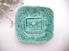 Crab Bowl Ceramic Bowl 525 inches by IslandGirlPottery on Etsy, $19.00