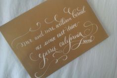 calligraphy by jennifer