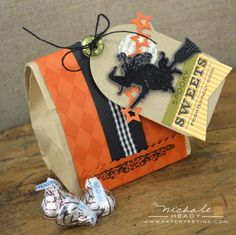 Witchy-Poo Gift Bag by Nichole Heady for Papertrey Ink (August 2012)