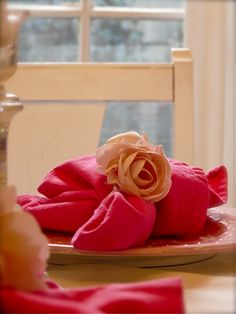 Pink on Pink table setting
