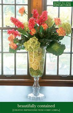 Instructions on how to make this arrangement decor, floral centerpieces, pink flowers, centerpiecesflor arrang, beauty, floral arrangements, table centerpieces, garden, fruit arrangements