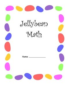 First Grade Graphing w/ Jelly Beans