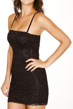 Black Fuchsia Women's Firm Control Secret Shapewear Slim Lace Dress.  Look good at http://www.amazon.com/gp/product/B009SRN6UM/?ref=as_li_ss_tl?ie=UTF8%3D1789%3D390957%3DB009SRN6UM%3Das2%3Dbizelellcom0e-20