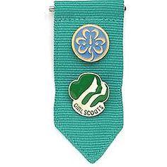 Girl Scout Junior Insignia Tab. $2.50