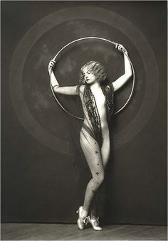 Photos of girls from the Ziegfeld Follies