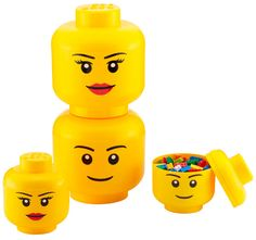 If my girls end up loving legos, I love these storage containers!