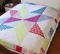 giant star quilt | sophieversionscrap