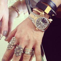 thecoveteur:  Ice, ice, baby.  Cc @zoechiccojewelry