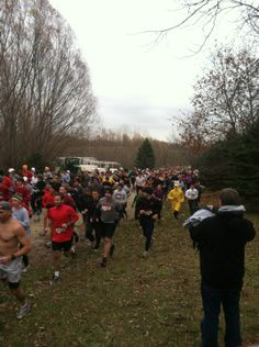 The Living History Farms race in Urbandale is the largest cross-country run in North America. Held annually in November.