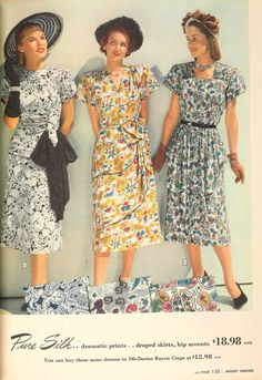 1948 Fashion from Tuppence Ha'penny