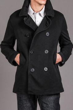 Echo French Terry Pea Coat