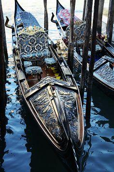 Venice; Gondolas