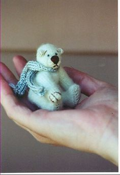 Icicle - Mohair Bear