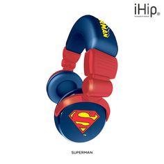 iHip DC Comics Headphones - Assorted Styles at 80% Savings off Retail!