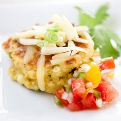 Cheddar Corn Cakes Recipe « Go Bold with Butter