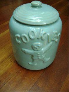 McCoy Blue Cookie Jar