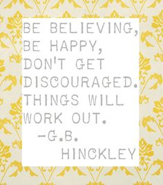 <3 President Hinckley