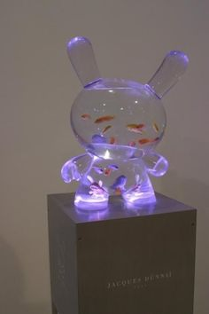 This would be awesome for a kid's night light :)