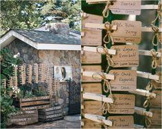 Unique Wedding Place Cards
