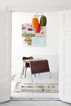 my scandinavian home: The Apartment. Copenhagen - love the light!