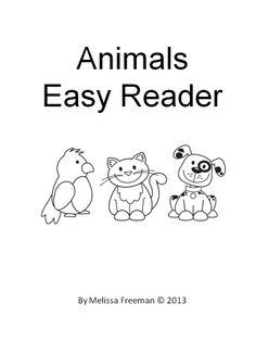 easi reader, easy readers, sight word