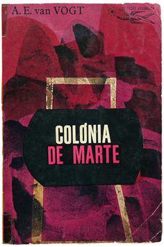 Colónia de Marte, Published by Colecção Argonauta- designed by Lima de Freitas (1960s)