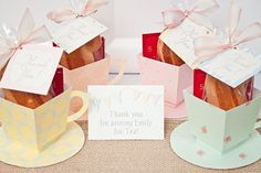 TEA CUP Favor Box DIY Printable by piggybankparties on Etsy