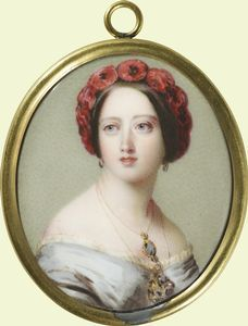 Queen Victoria  c.1851 - Royal Collection