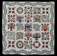Beautiful Baltimore Album quilt!  http://quilltr.blogspot.com/  Source: Julie Silber from The Quilt Complex