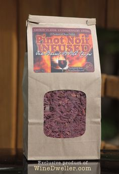 #Wine Infused Oak Barrel BBQ Chips - PINOT NOIR!  NOW AVAILABLE!