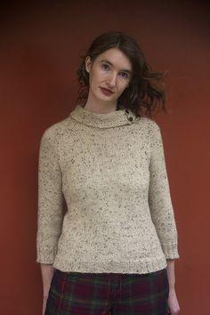 Backbone by Kristen Hanley Cardozo, knit in Knit Picks City Tweed DK