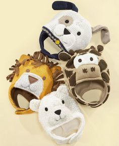 First Impressions Baby Hats. Lions, and tigers, and bears, oh my! $15.98