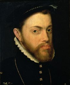 Phillip of Spain, Husband of Mary l. Grand Nephew of Queen Catherine of Aragon.