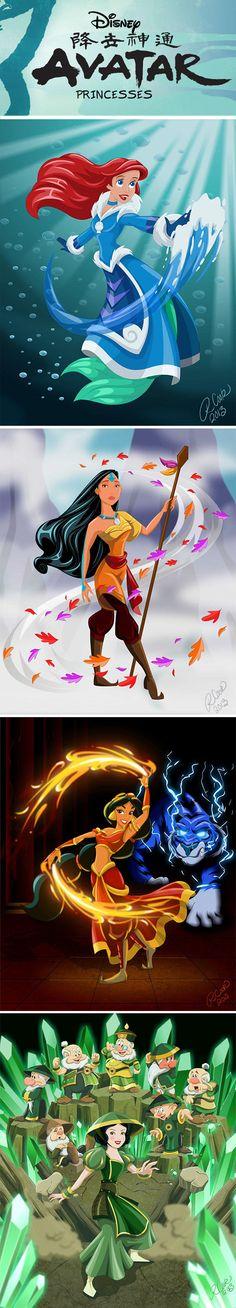 Avatar Princesses