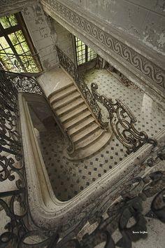 Abandoned Chateau des Singes - France