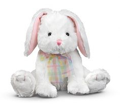 Blossom Bunny Rabbit Stuffed Animal at theBIGzoo.com, an animal-themed superstore.