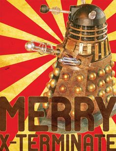 Yay! Dr. Who Christmas stuff! After all, what's Christmas without watching the Dr. Who Christmas episode?!?!?