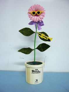 Rock n Flowers! You either had one or wanted one if you're an 80's child!