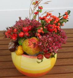 -Selbstgemachtes Herbstgesteck- von akli